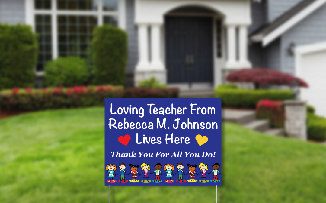 Rebecca M Johnson School Sign