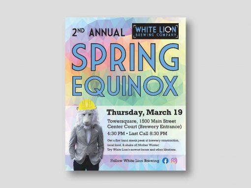 White Lion Spring Equinox