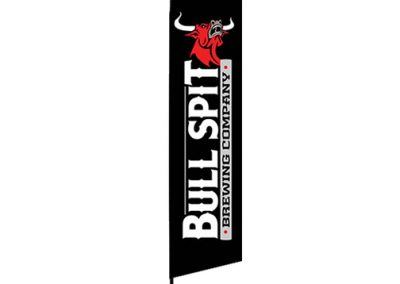 Bull Spit Brewing Flag